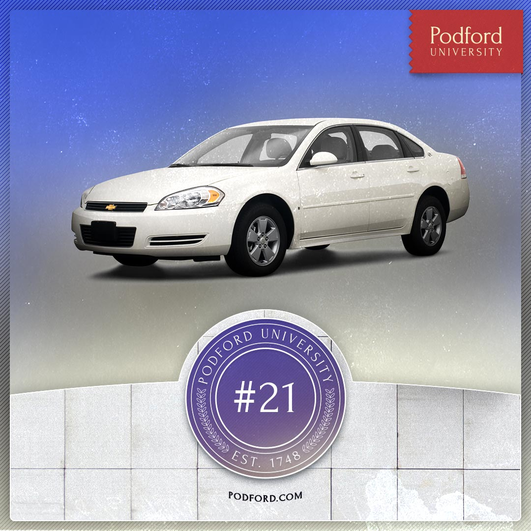 Podford University: A Petty Saved is a Chevy Earned