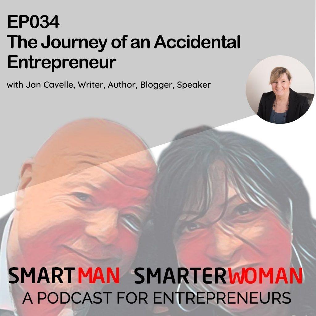 Episode 34: Jan Cavelle - The Journey of an Accidental Entrepreneur
