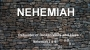 Artwork for Nehemiah: Rebuilder of Broken Walls and Lives ( Pastor Boby Lewis Jr.)
