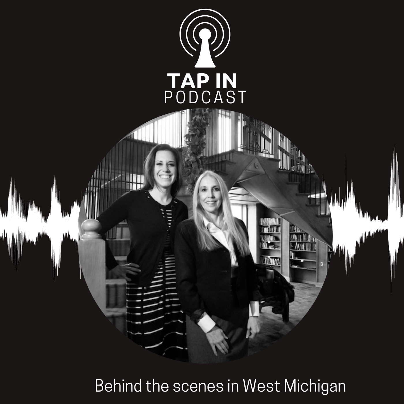 Tap In Podcast show art