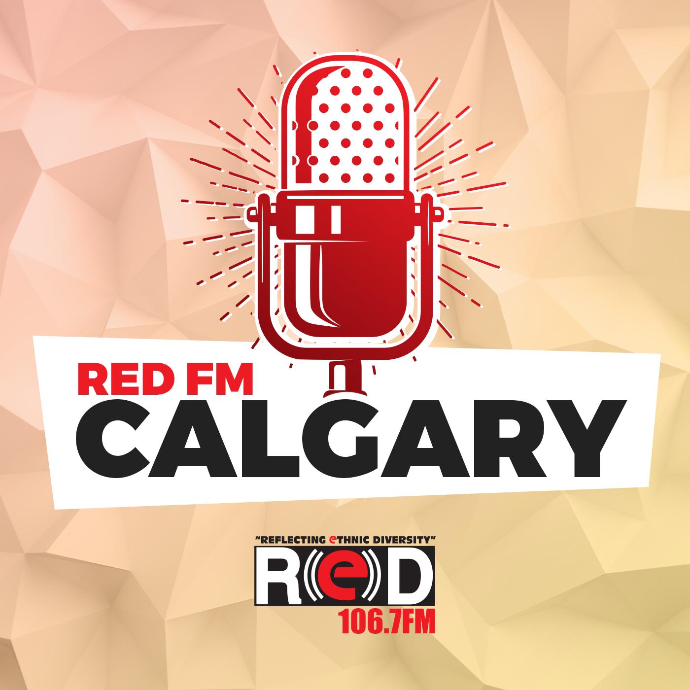 RED FM Calgary show art