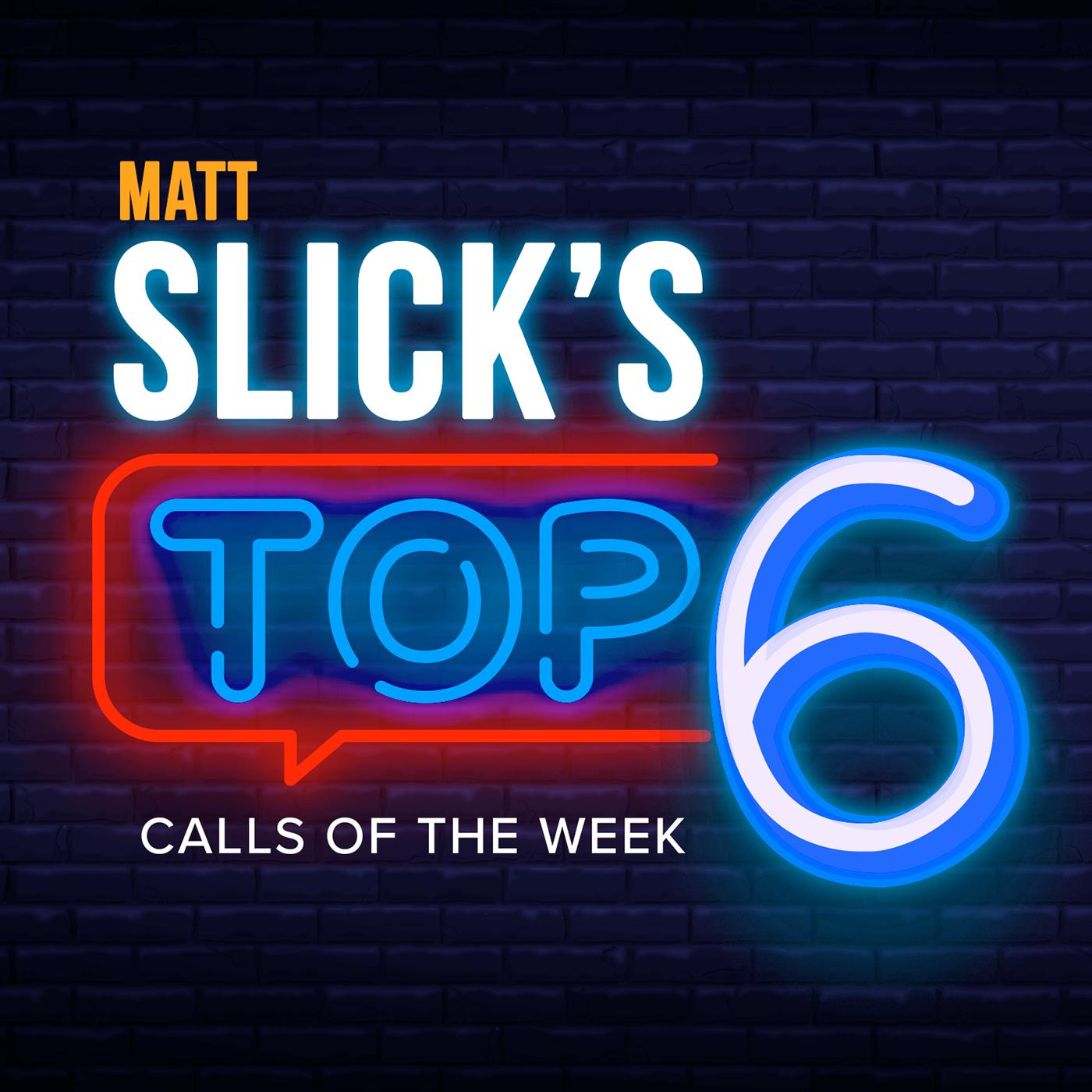 Matt's Slick's TOP 6 show art