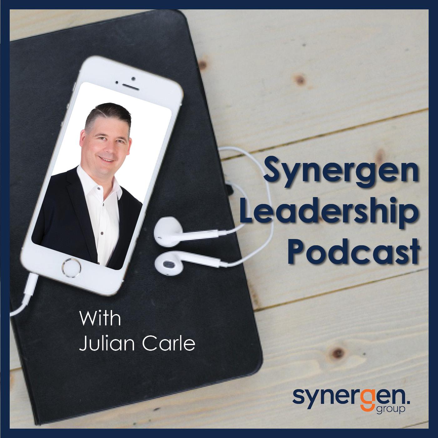 Synergen Leadership Podcast show art
