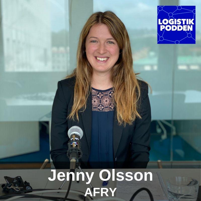 Avsnitt 114 - Jenny Olsson från AFRY