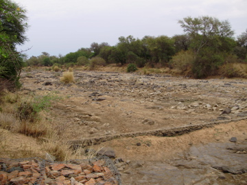 The Limpopo River basin; Many rivers but not enough water