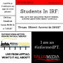 Artwork for TMNews: #63: Dec 3, 2018: Students in IRF, Texas Shoots for Direct Access, & Ft. Donna Metzger, live from APPTAC