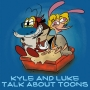 Artwork for Kyle and Luke Talk About Toons #2: Sick Little Monkeys: The Unauthorized Ren & Stimpy Story