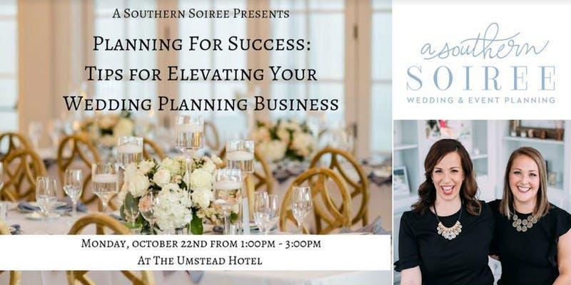 Wedding Planning for Success Seminar