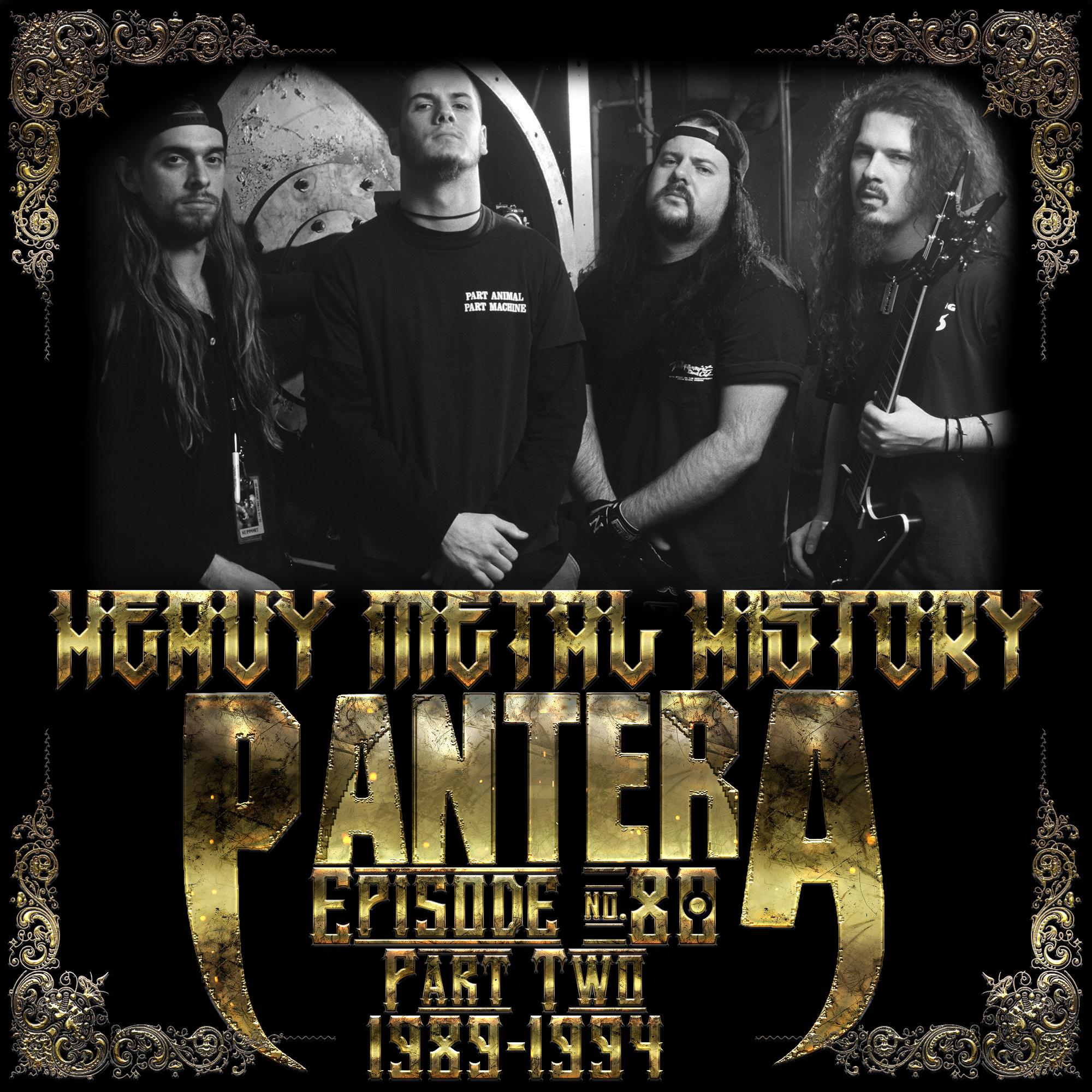 Artwork for #80 Pantera: Part Two (1989-1994)