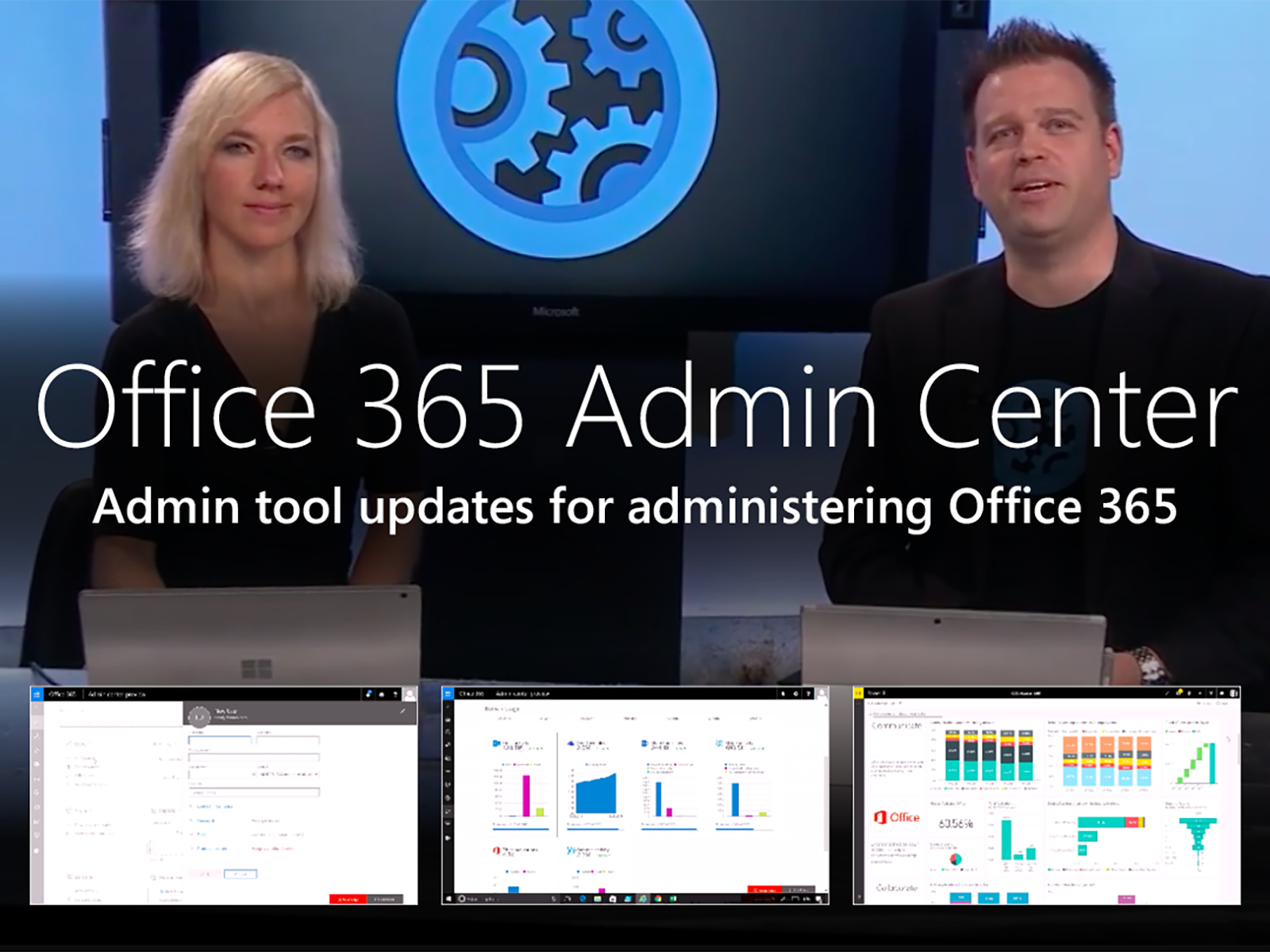 Artwork for Updates to the Office 365 Admin Center