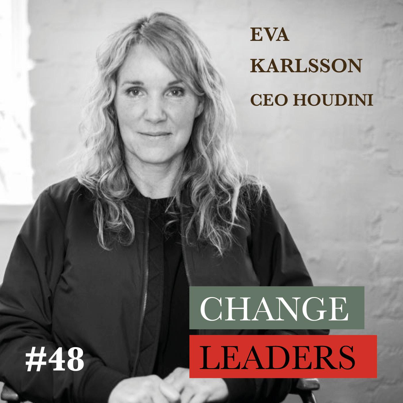#48 Eva Karsson, CEO Houdini - What is a regenerative business model?