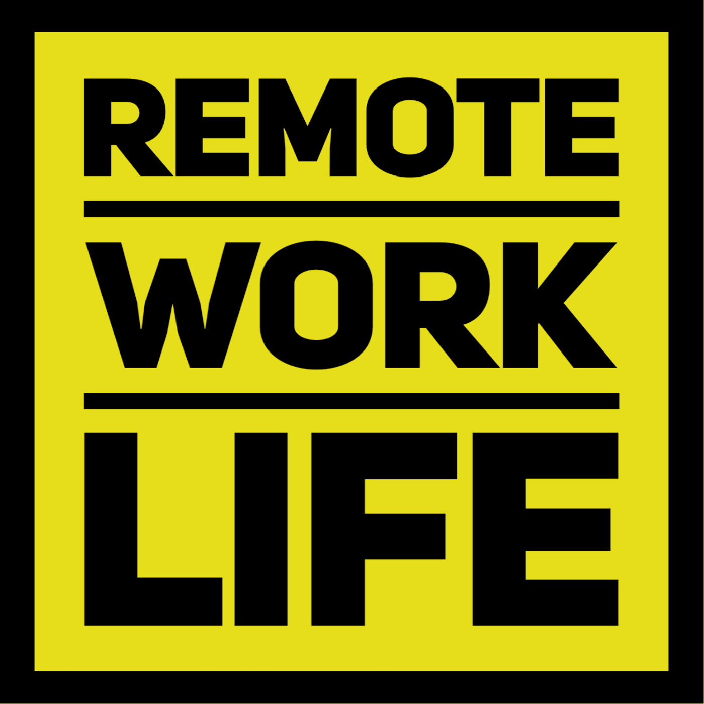 Remote Work Life Podcast show art