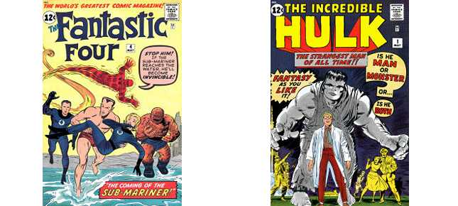 KomicsKast 102 - May 1962 - FF #4 and Incredible Hulk #1