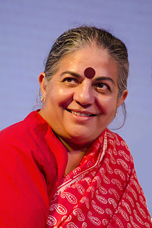 Dr Vandana Shiva and the fight against GM piracy