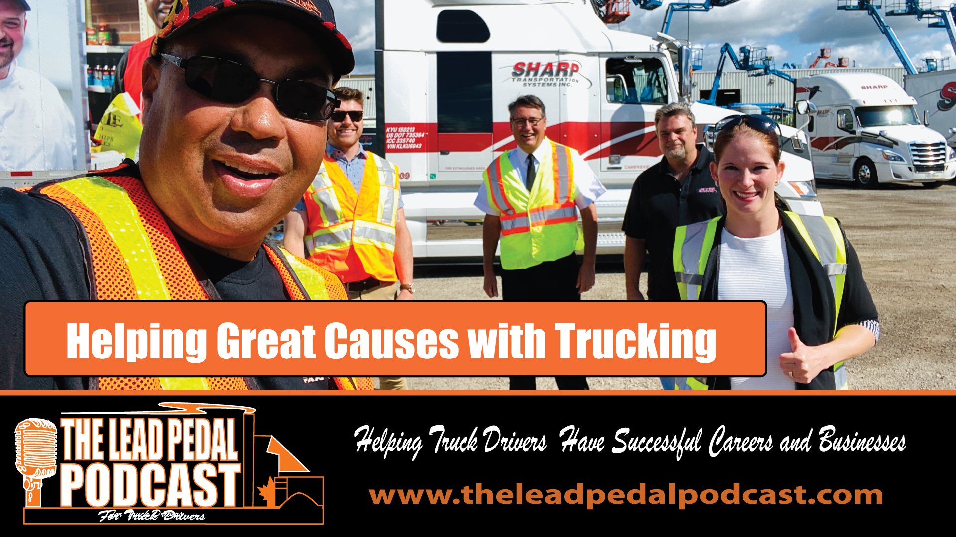 LP523 Trucking Gives Back With Salvation Army Rolling Billboard