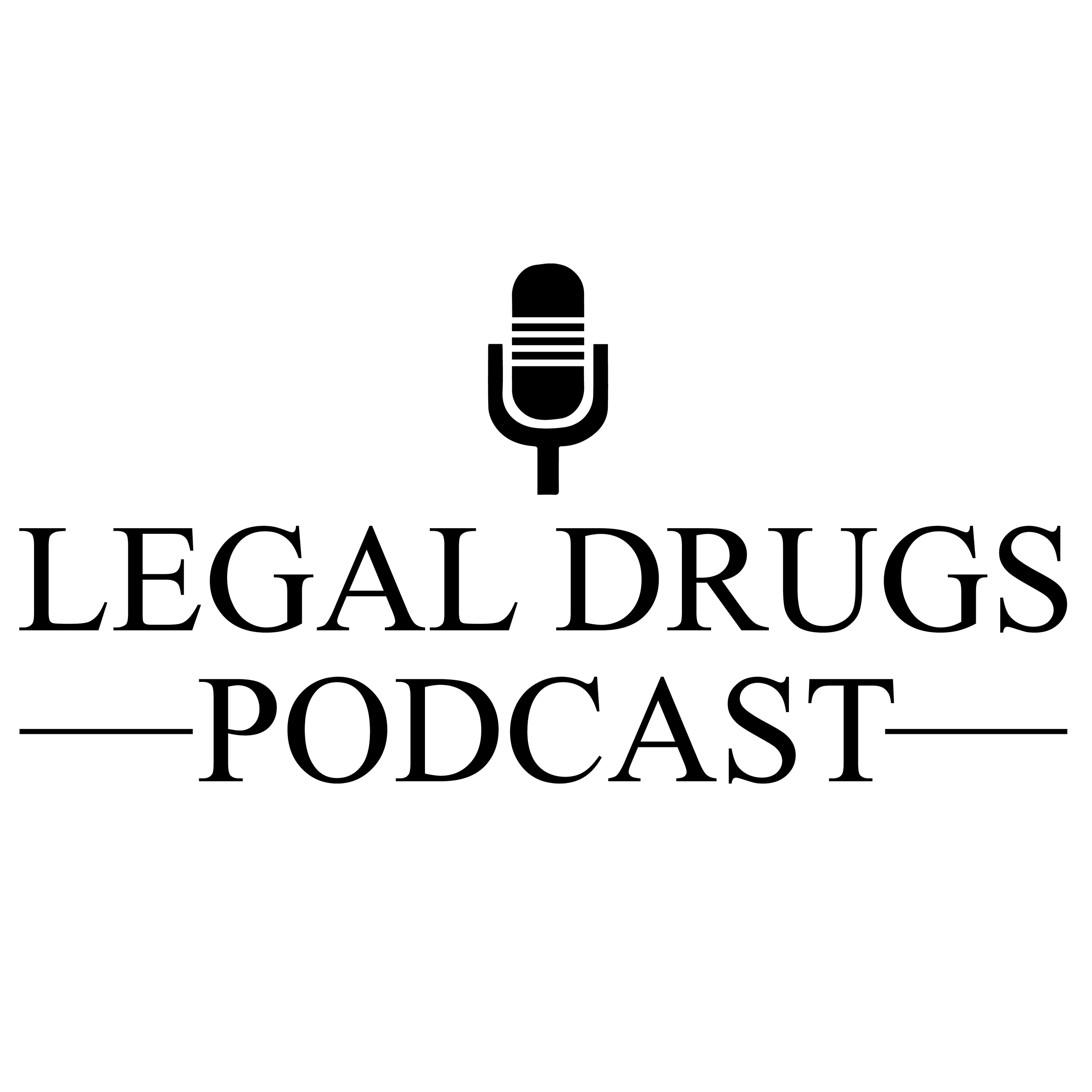 Legal Drugs Podcast show art
