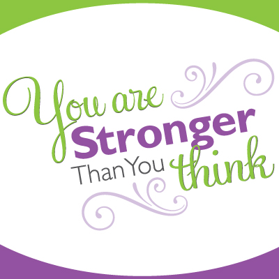Stronger Than You Think Women's Network show art