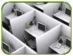 Size Matters: Workspace requirements for office work