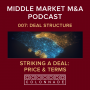Artwork for MM M&A 007: Striking a Deal - Price & Terms