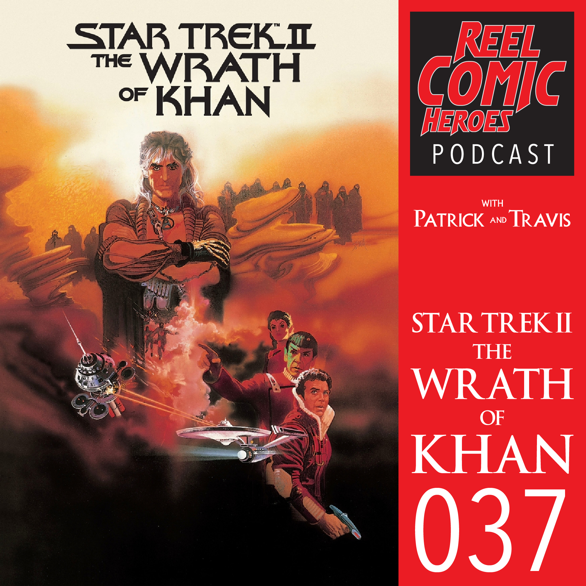 Artwork for Reel Comic Heroes 037 - Star Trek II: The Wrath of Khan