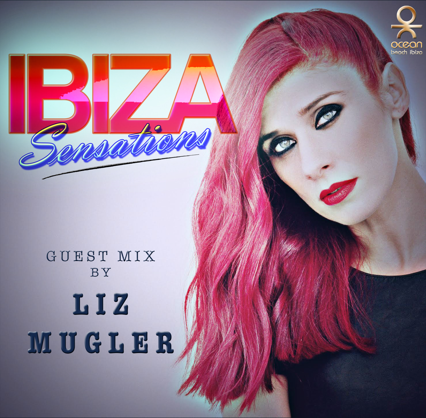 Artwork for Ibiza Sensations 120 Guest mix by Liz Mugler