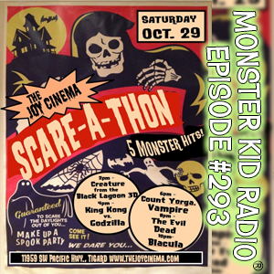Monster Kid Radio #293 - Scare-A-Thon 2016 (and a little Theatre of Blood)