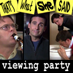 "Episode #105 -- ""Viewing Party"" (11/11/10)"
