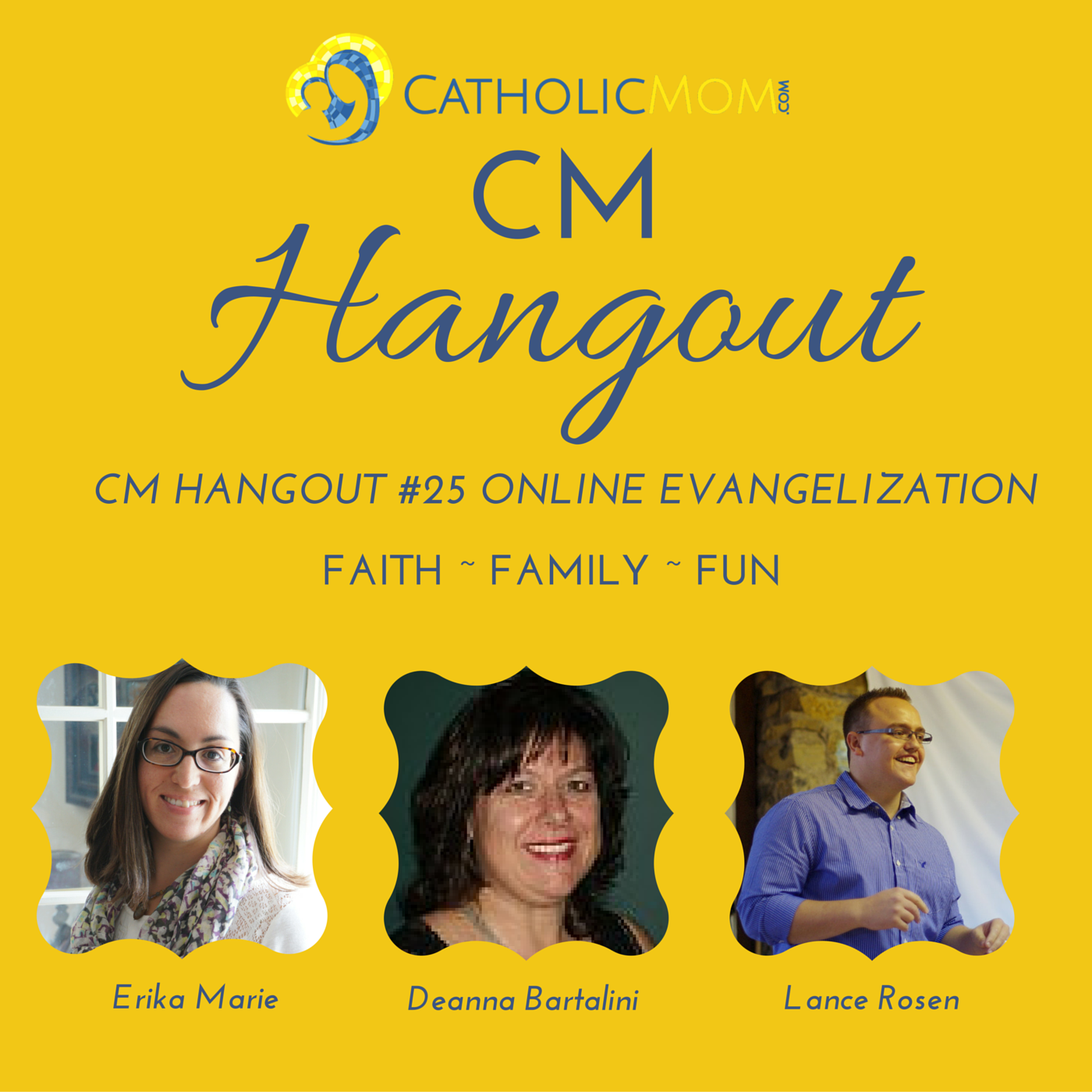 CM Hangout #25: Online Evangelization Tips, Strategies and Authenticity