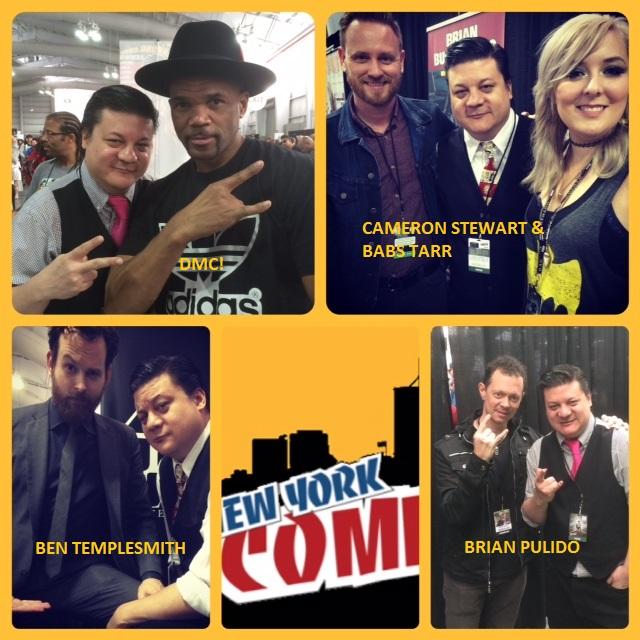 Episode 571 - NYCC w/ DMC/Ben Templesmith/Brian Pulido/Babs Tarr & Cameron Stewart!