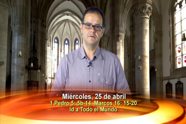 Artwork for Dios te Habla con Vilson Monteiro, sacerdote SVD : Tema el hoy: id a todo el mundo