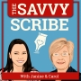 Artwork for The Savvy Scribe Podcast Launch