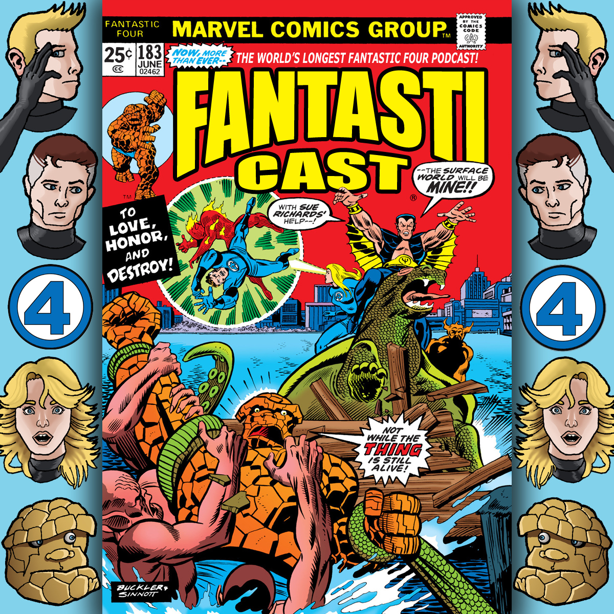Episode 183: Fantastic Four #149 - To Love, Honor, and Destroy