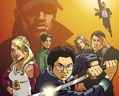 Jeph Loeb's Heroes Strike!