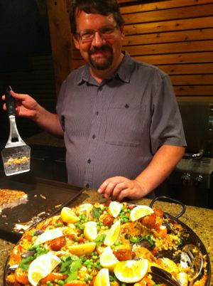 Recipe of the week: Spanish-style Paella on the Grill