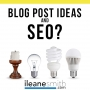 Artwork for SEO Plugins and Blog Topic Ideas