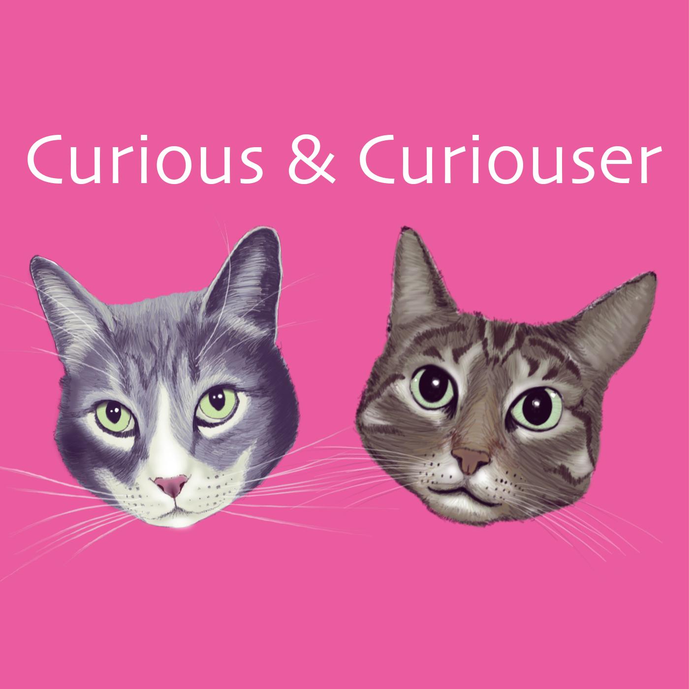 Curious and Curiouser Podcast logo