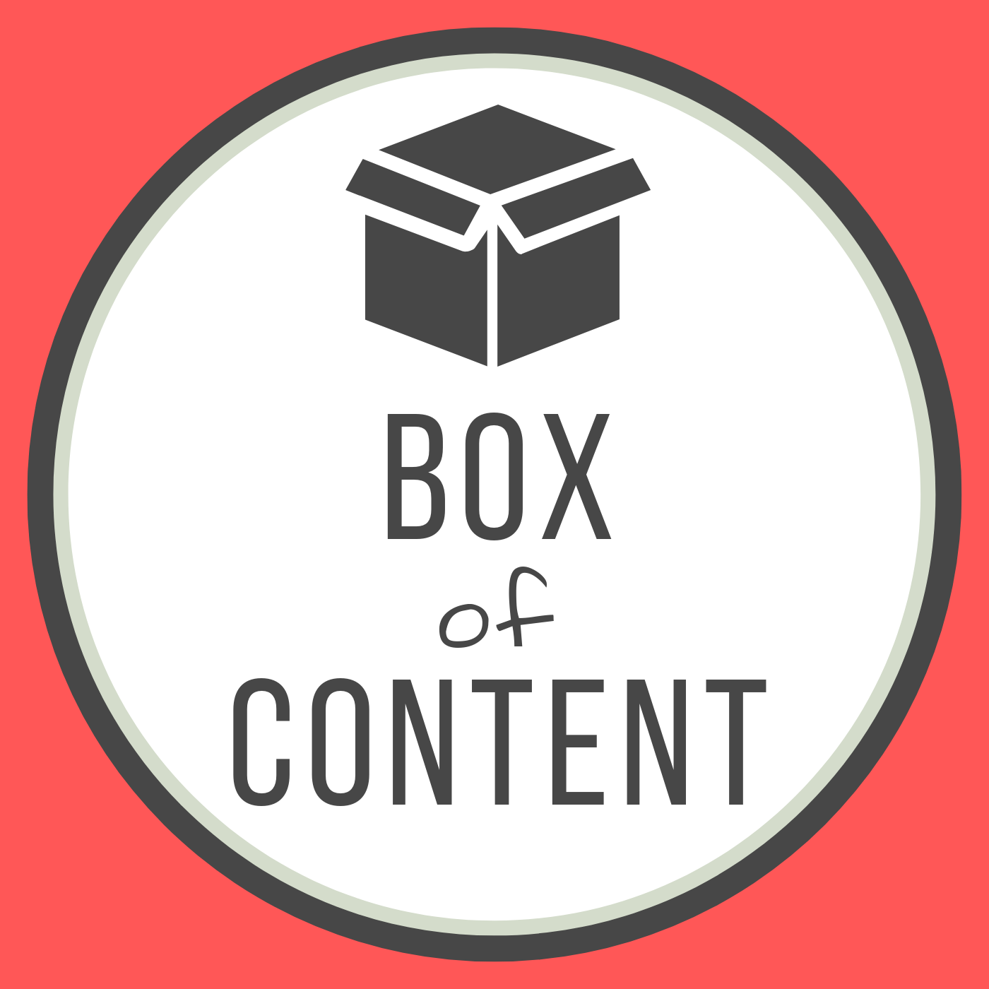 Box of Content show art