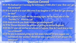 Ask Dr. Doreen - July 3rd, 2013
