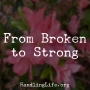 Artwork for From Broken to Strong