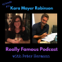 Artwork for The Kara Mayer Robinson interview. By Peter Hermann.