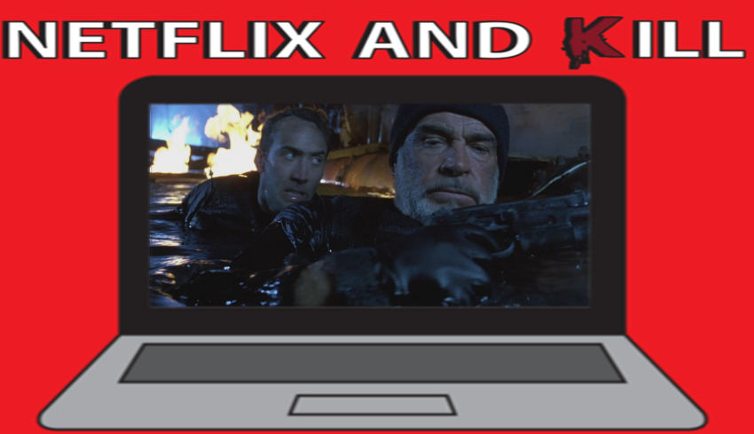 Artwork for Netflix and Kill - The Rock
