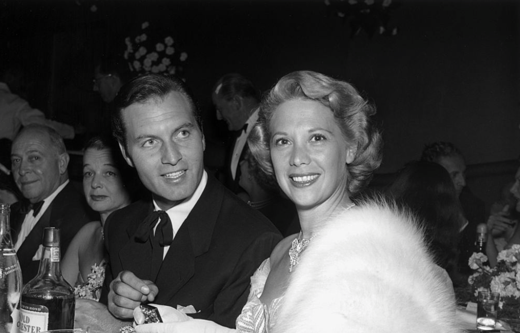 Image result for george montgomery and dinah shore
