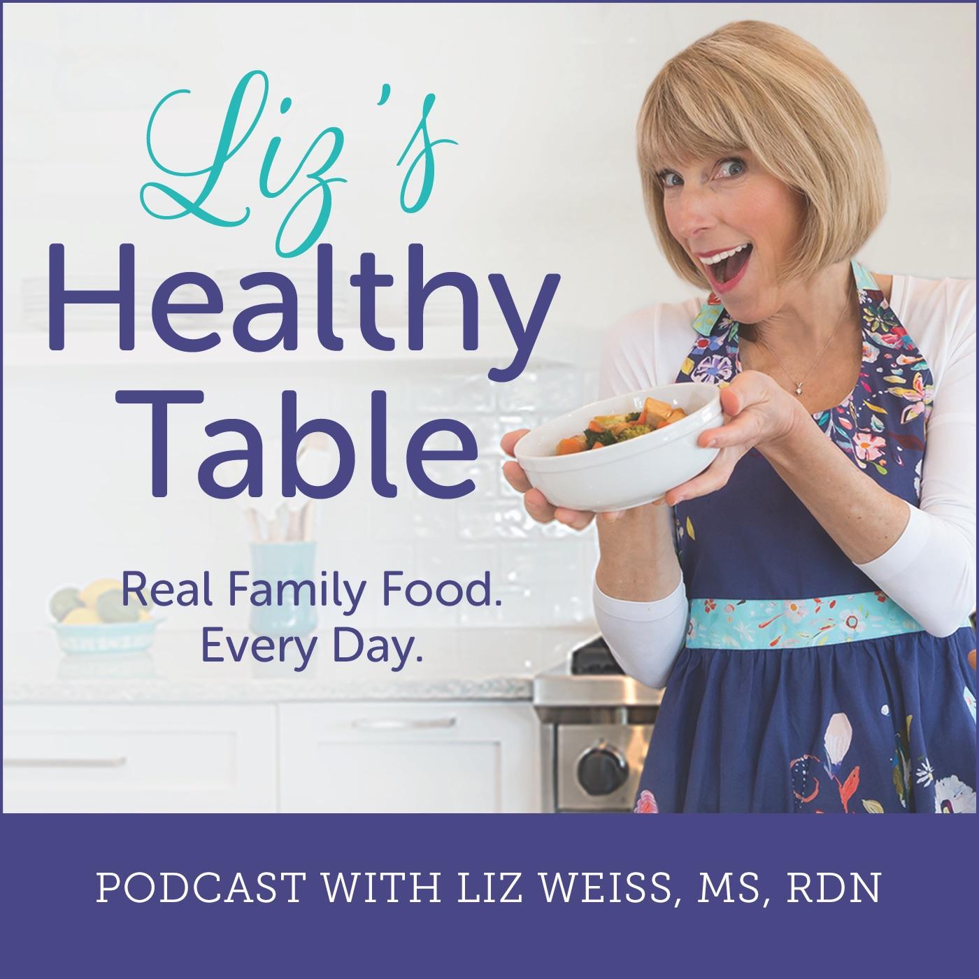 Liz's Healthy Table show art