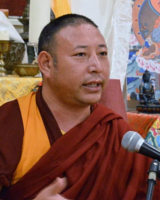 Artwork for Geshe Thinley on Virtues