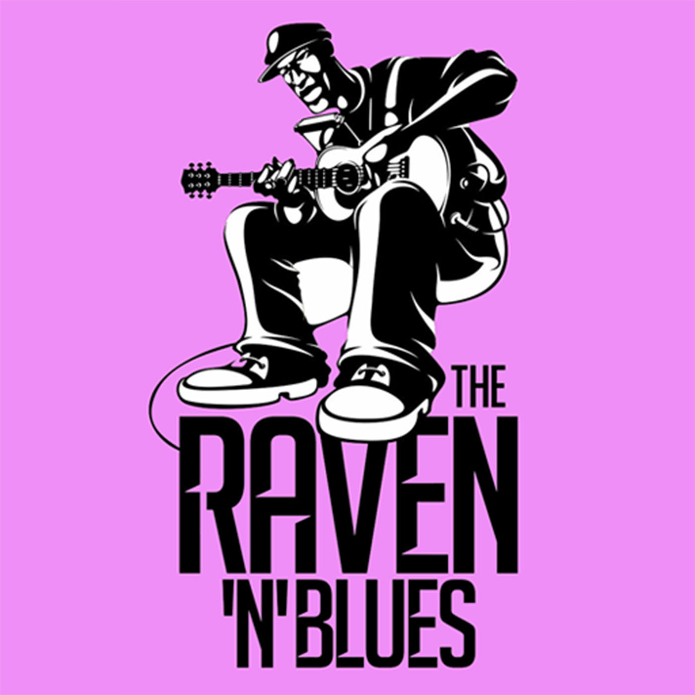 Raven and Blues show art