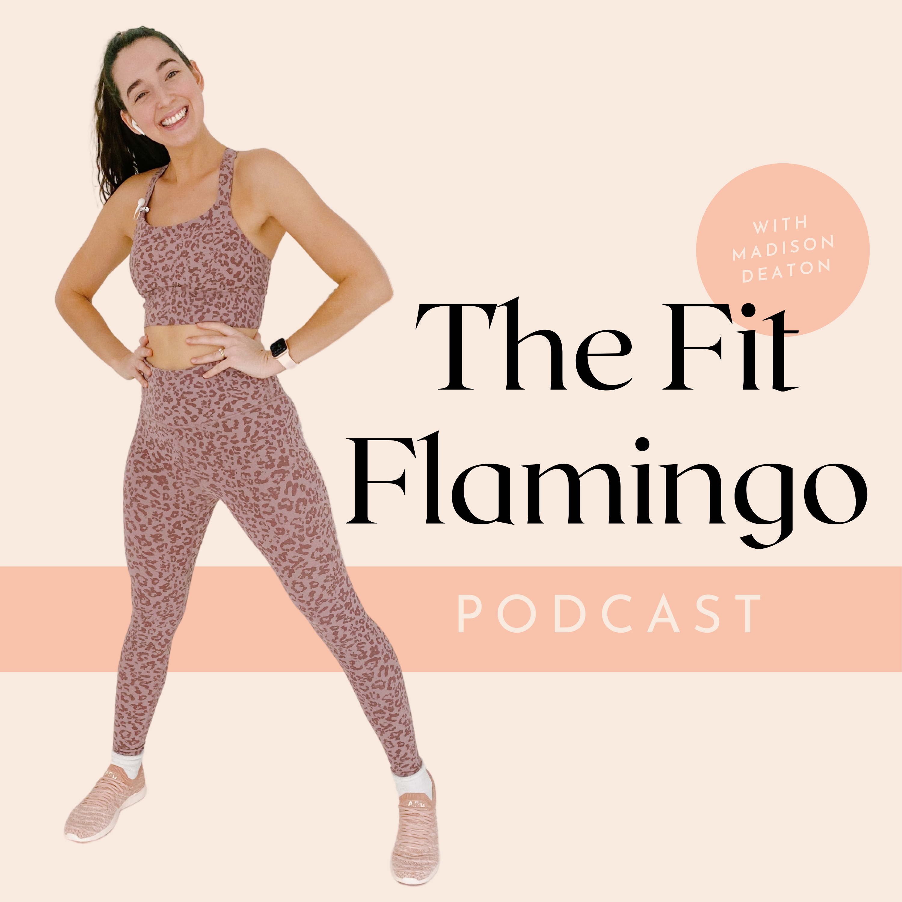 The Fit Flamingo Podcast show art