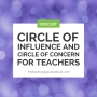 Artwork for Circle of Influence and Circle of Concern for Teachers