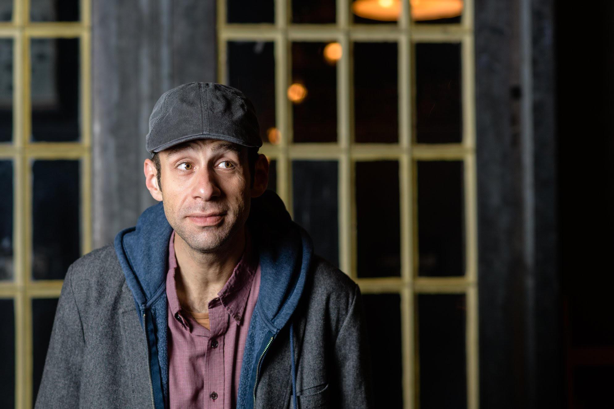 Comedian Adam Gabel