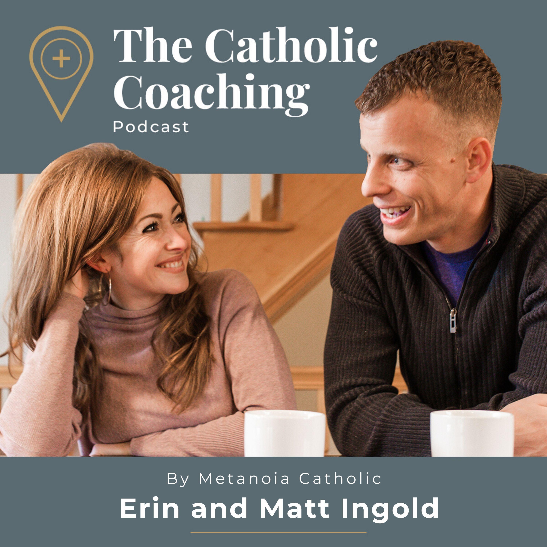 The Catholic Coaching Podcast show art