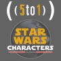 Artwork for 1 - Star Wars Characters - 5 to 1